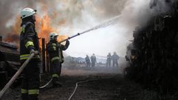 Óriási küzdelem volt a lángokkal