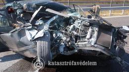 Súlyos baleset az M7-esen