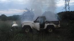 Kiégett egy terepjáró Kaposváron