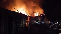 Családi ház lett a tűz martaléka