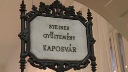 Állandó helyre került a Steiner-gyűjtemény