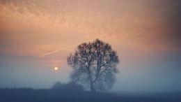 Napos és ködös tájak váltakoznak