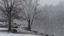 Fagyos idő, estétől kisebb havazással!