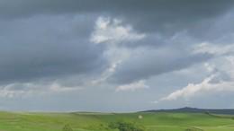 A távozó esőzóna mögött erős felmelegedés kezdődik