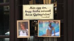 Megható üzenettel emlékeztek Fruzsinára