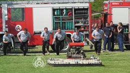 Törökkoppányban versengtek az önkéntes tűzoltók