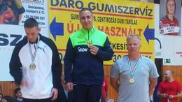Horváth és Vadócz is a dobogó tetején