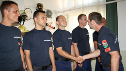 Kilenc újabb somogyi tűzoltó kötelezte el magát a hivatás mellett