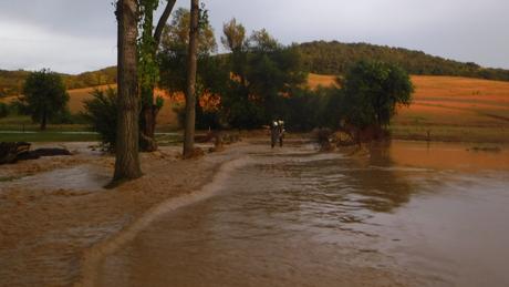 Tűz és víz egyaránt adott munkát a katasztrófavédőknek