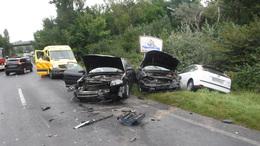 Négy autó ütközött a 7-es főúton