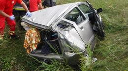 Súlyos baleset Zamárdinál