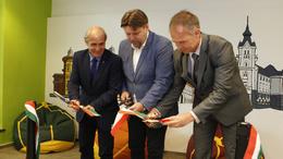 Közösségi tér nyílt Kaposvár szívében
