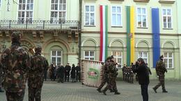 Zászlófelvonással kezdődött meg Somogy ünnepe