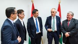 Miniszterekkel tárgyalt Szita Károly