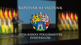 Nézze élőben Kaposvár polgármesterének évértékelőjét!