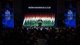 Évértékelőt tartott Orbán Viktor