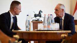A külügyminiszterrel tárgyalt Kaposvár polgármestere
