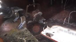 Három hajó is leégett a Balatonon