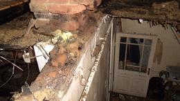 Kigyulladt egy ház Kaposváron