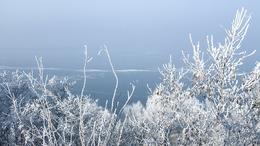 Látványos fotók a téli Balatonról