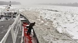 Magyar jégtörők segítenek déli szomszédainknak