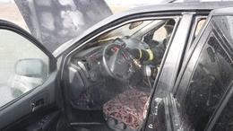 Pillanatok alatt a tűz martaléka lett az autó - videóval!