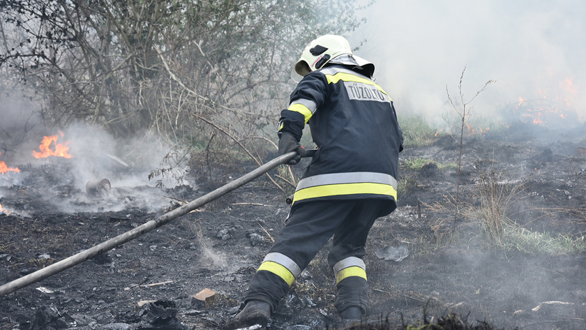 Fotók: Katasztrófavédelem