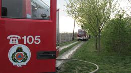 Családi ház lángolt a Balatonnál