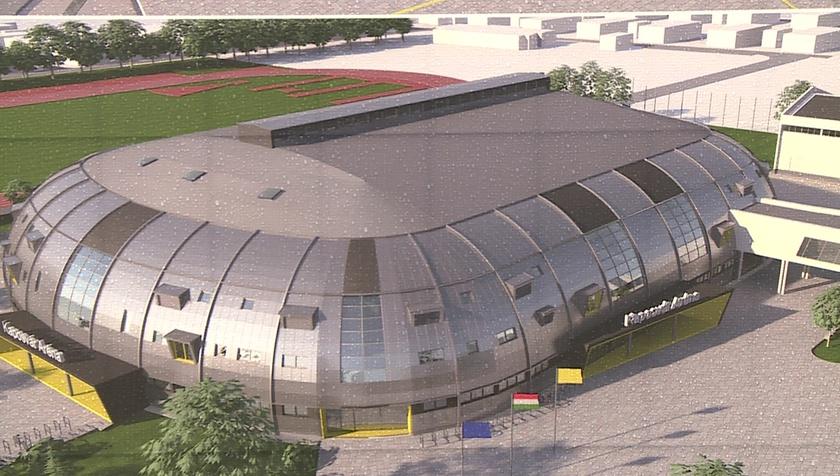 Így fog kinézni a Kaposvár Aréna