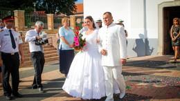 Ezúttal esküvőre siettek a tűzoltók