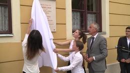 Emléktáblával tisztelegnek Kaposvár legendás karnagya előtt
