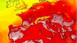 Afrikai eredetű, igen meleg levegő éri el térségünket