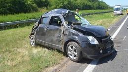 Törtek az autók a megye útjain