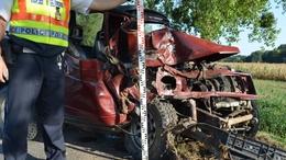 Nyolcan sérültek tizenhárom balesetben