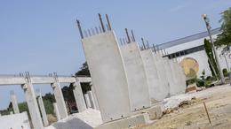 Jól halad a Kaposvár Aréna építése