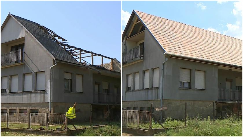 Íme három épület amin jól látszik hogy mennyire sikerült/nem sikerült a helyreállítás.