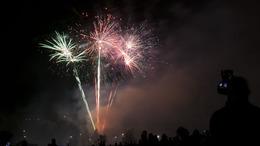 Kaposváron is tűzijátékkal ünnepelték az államalapítást