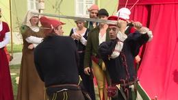 Két napos középkori fesztivál a Vígasságok terén