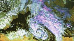 Mediterrán ciklon okoz változékony, csapadékos időt