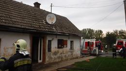 Családi ház lángolt Berzencén