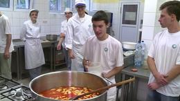Együtt főztek a fogyatékkal élő és az egészséges diákok