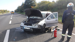 Fotókon a hétfő reggeli baleset