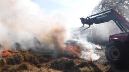 Több száz bálát emésztettek fel a lángok Somogyban