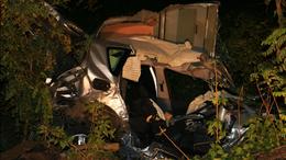 Két halott a vasárnap esti balesetben
