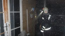 Akcióban a tűzoltók
