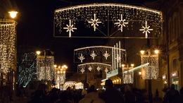Csodálatos ünnepi fényárba öltözött Kaposvár