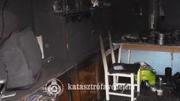 Holttestet találtak a tűzoltók egy lángoló házban
