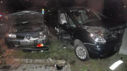 Fotókon a tegnapi baleset