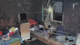 Kiégett egy táskai családi ház
