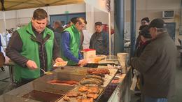 Kolbászoltunk egyet a kaposvári nagypiacon